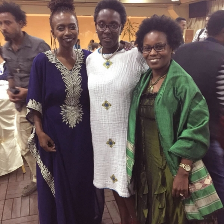 Eileen Kwesiga new treasurer, Faith Ngunjiri new Secretary and Judy Muthuri, co-programme chair for Ethiopia conference.