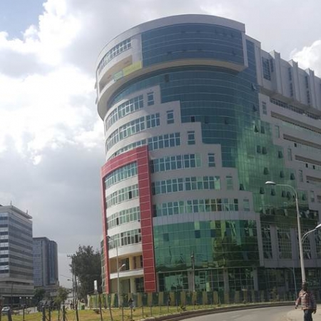 New building of the School of Commerce (SoC) at Addis Ababa University (AAU).