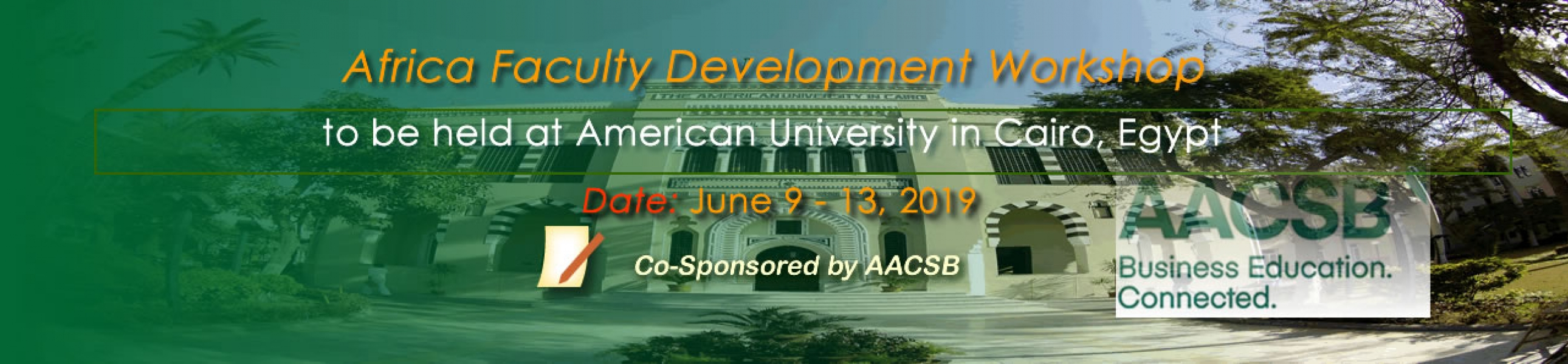 Africa Faculty Development Worshop - The American University, Cairo