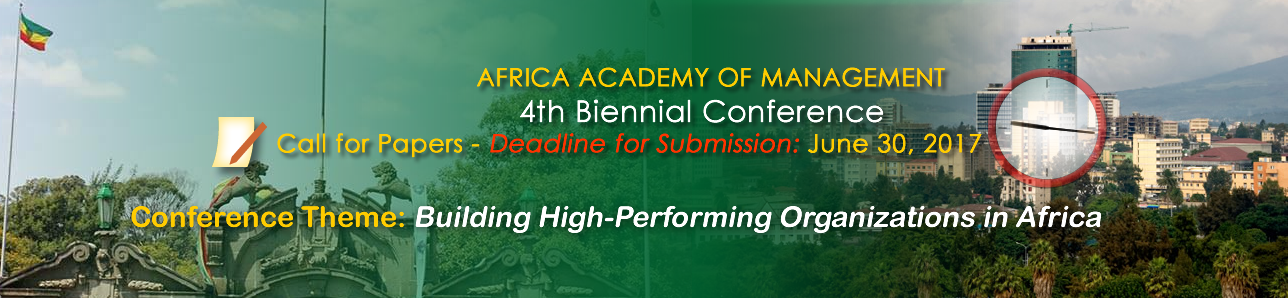 4th Biennial Conference - Submission Deadline