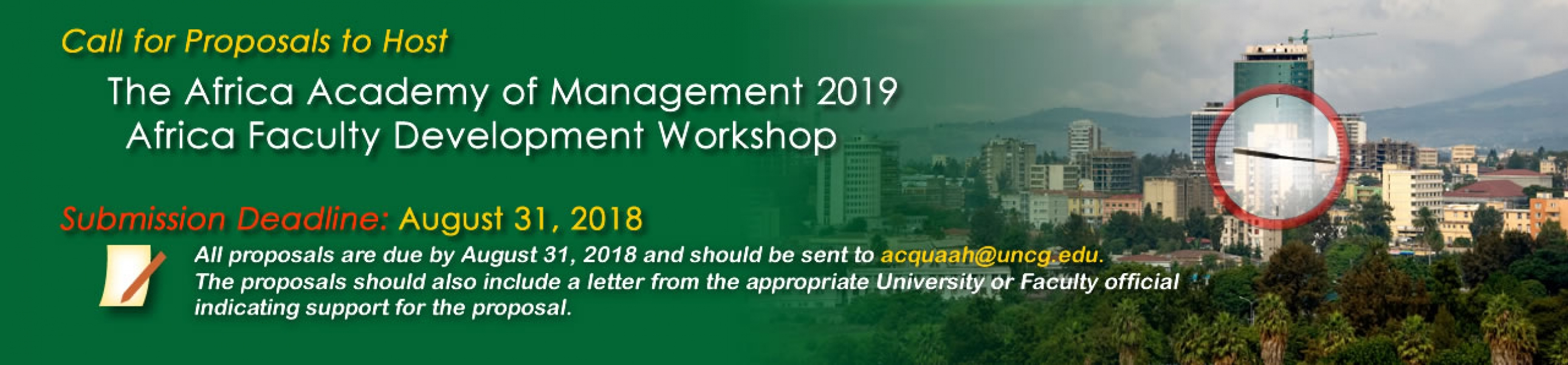 The Africa Academy of Management 2019 Africa Faculty Development Workshop